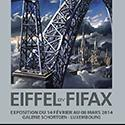 Affiche Exposition Eiffel by Fifax au luxembourg